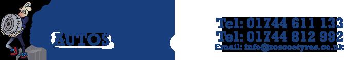 ROSCOE TYRES & MOTS Logo